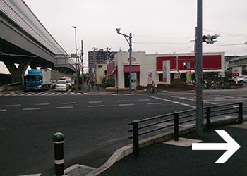 JR西浦和駅からさいたま歯科口腔外科までの道順その5